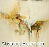 Abstract Bedroom Artwork