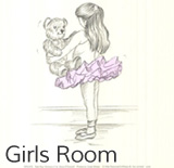 art for girls room