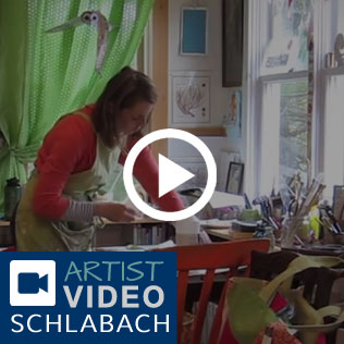 Sue Schlabach Artist Video