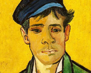 Young Man with a Hat, 1888 by Vincent Van Gogh