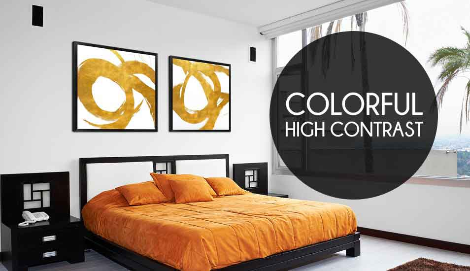 Colorful High Contrast Art