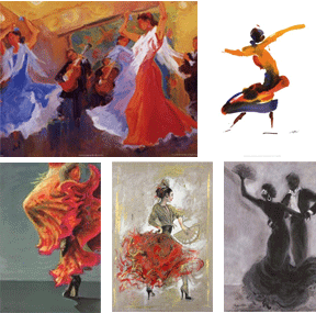 Flamenco Artwork