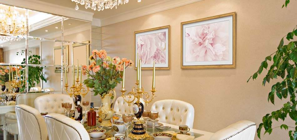 Floral Dining Room Art