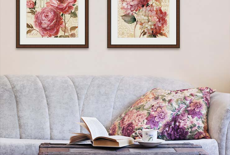 Comfy Cottage Flower Art