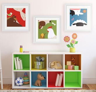 Framed Art Gifts for Kids