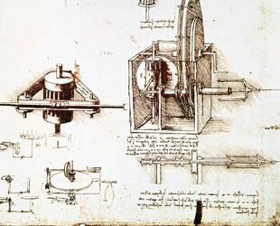 A Fin Spindle by Leonardo Da Vinci