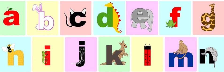 Animal Alphabet Art