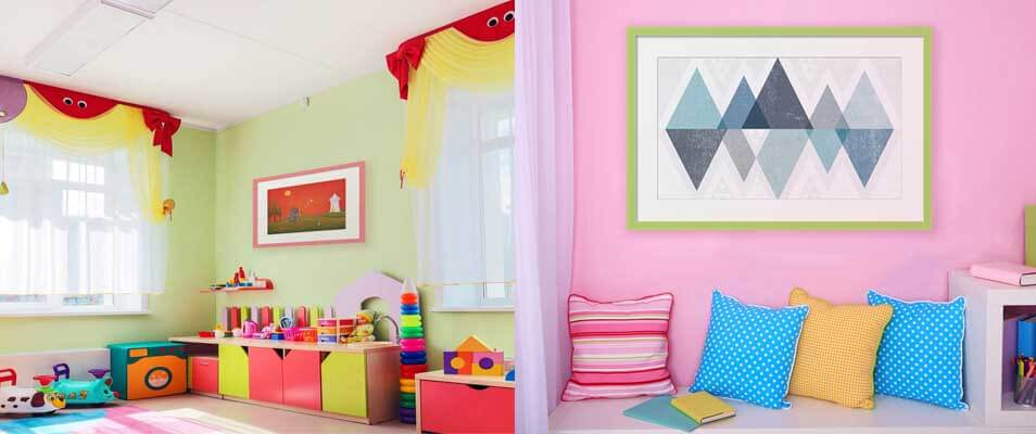 Kids Room Art, Nursery Room, Girls & Boys Room Artwork ...