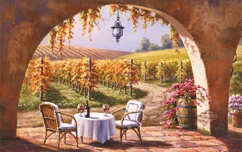 Vineyard art prints