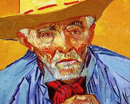 Van Gogh Portrait Art