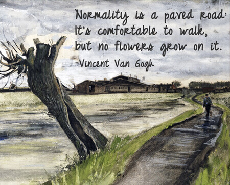Van Gogh Quote Art