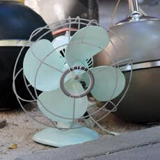 Antique Fan in Paris