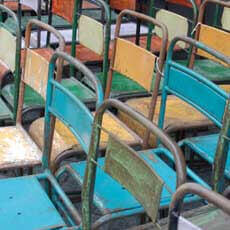Colorful French Chairs