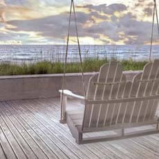 Swing At The Beach by Celebrate Life Gallery