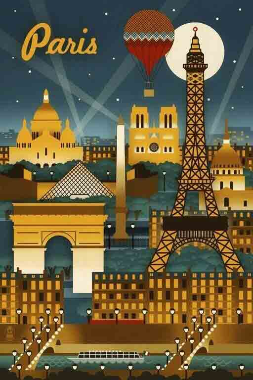 Paris Europe artwork
