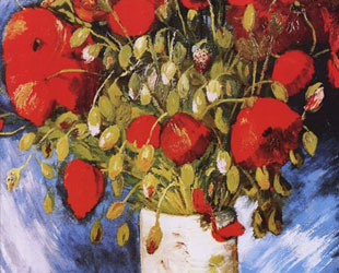 Poppies, c.1886 by Vincent Van Gogh
