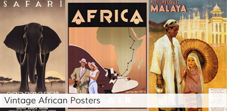 Vintage African Posters