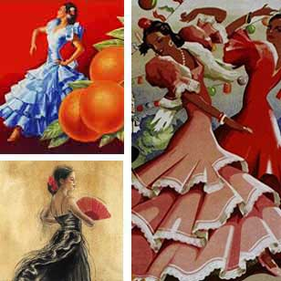 Flamenco Prints