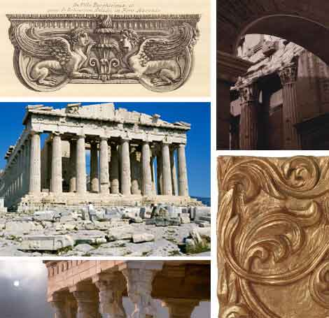 Greek Architecture Posters