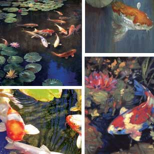 Koi Pond Prints