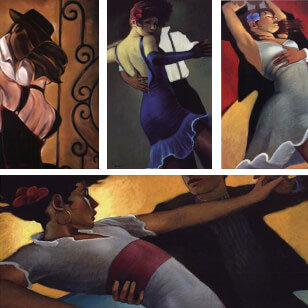 Salsa Dance Prints