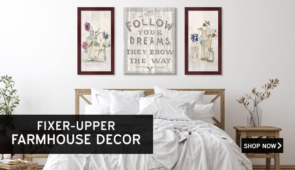 Fixer Upper Farmhouse Art