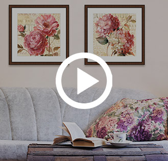 flower art prints video