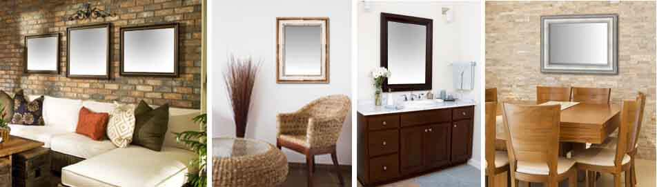 Custom Framed Wall Mirrors