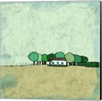 Tiny Green Home Fine Art Print