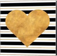 Golden Heart Fine Art Print