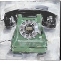 Retro Phone III Fine Art Print