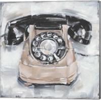 Retro Phone IV Fine Art Print