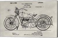 Patent--Motorcycle Fine Art Print
