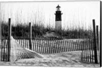 Tybee Island Lighthouse, Savannah, Georgia (BW) Fine Art Print