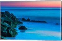 Cape May In Aqua, New Jersey Fine Art Print