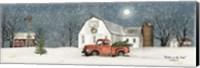 Winter on the Farm Fine Art Print