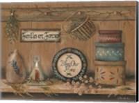 Treasures on the Shelf II Fine Art Print