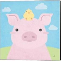 Barn Buddies II Fine Art Print