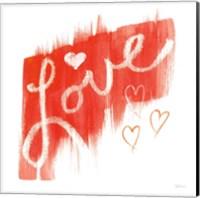 Painted Love Fine Art Print