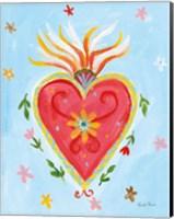 Frida's Heart I Fine Art Print