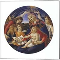 Madonna of the Magnificat Fine Art Print