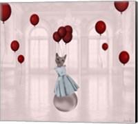 Ball with Balloons Fine Art Print