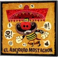 Abejorro Mostachon Fine Art Print