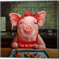 Gingerbread Pigs Fine Art Print