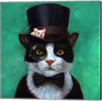 Tuxedo Cat Fine Art Print
