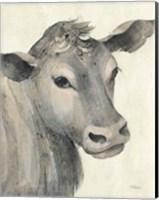 Moo Brown Crop Fine Art Print