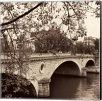 Pont Louis-Philippe, Paris Fine Art Print
