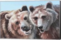 Brown Bears Fine Art Print
