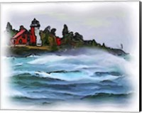 Ausable Lighthouse Fine Art Print
