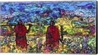 Life on the Serengeti Fine Art Print